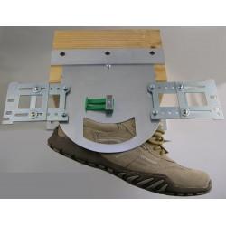 Tamborek , rama do haftu na obuwiu zaokrąglony OB0002