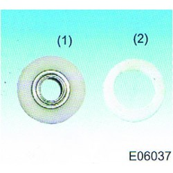 rolka, Kółko Plastik set E06037, EG0721000000