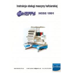 Instrukcja obsługi maszyny hafciarskiej HAPPY HCD2 1501