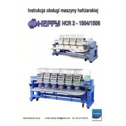 Instrukcja obsługi w języku polskim do maszyny hafciarskiej HAPPY HCR 1504/1506