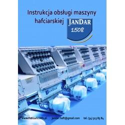 instrukcja obsługi w języku polskim do maszyny hafciarskiej JANDAR 1508