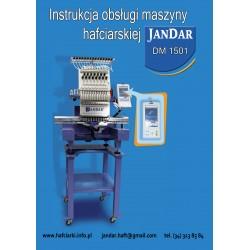 Instrukcja obsługi w języku polskim do maszyny hafciarskiej JANDAR DM 1501
