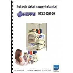 Instrukcja obsługi w języku polskim do maszyny HAPPY HCS2-1201-30