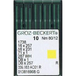 igła szwalnicza GROZ-BECKERT 1738 80/12 R