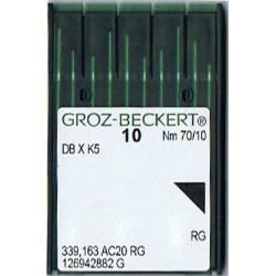 igła szwalnicza GROZ-BECKERT DB X K5 70/10 RG