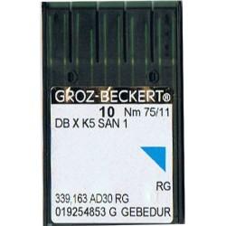 igła szwalnicza GROZ-BECKERT DB X K5 SAN1 75/11 RG GEBEDUR